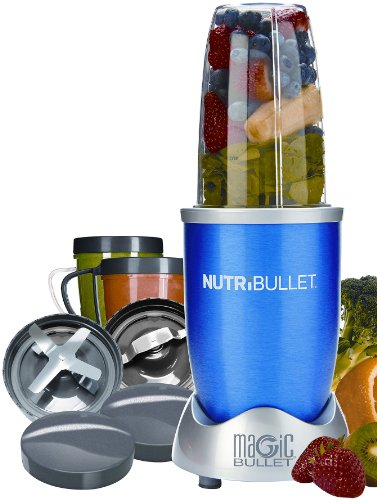 Best Price! Nutri Bullet NBR-12 12-Piece Hi-Speed Blender/Mixer System, Blue