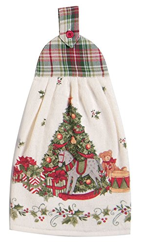 Kay Dee Designs Snowy Night Linens (Tie Towel) (Tie On Dish Towels compare prices)