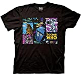 Ripple Junction Doctor Who Comic Villains Adult T-shirt