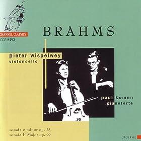 Brahms: Sonata for Pianoforte and Cello