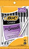 BIC Cristal Stic Ball Pen, Medium Point (1.0 mm), Black, 120 Pens