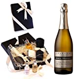 PERSONALISED Prosecco Sparkling Wine 750ml & Luxury Molton Brown Pamper Gift Box - ADD YOUR OWN FREE PERSONAL MESSAGE & NAME TO THE WINE LABEL - Valentines Day, Mothers Fathers Day Gifts, Christmas Xmas Corporate Thank You, Retirement Wedding Anniversary