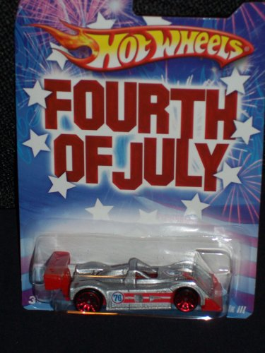 Hot Wheels 2008 Fourth Of July Series Riley & Scott MK III Wal-Mart Exclusive - 1