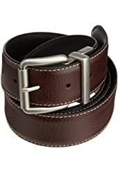 Levi's Men's Big And Tall Brown To Black Reversible Belt