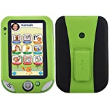 HOTCOOL LeapFrog LeapPad Ultra XDi Case, LeapPad Ultra Case - New-Leather with Kickstand 2014LAG Case For LeapFrog LeapPad Ultra XDi(2014 Version) And LeapPad Ultra (2013 Version) Kids' Learning Tablet, Green