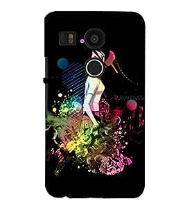 Fuson Music Case Cover for LG Google Nexus 5X