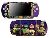 Teenage Mutant Ninja Turtles April TMNT Leonardo Mike Raph Donatello Splinter Shredder Video Game Vinyl Decal Skin Sticker Cover for Sony PSP Playstation Portable Slim 3000 Series System