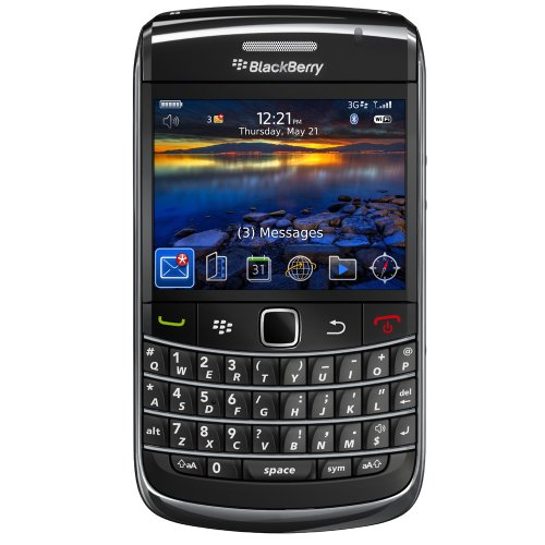 BlackBerry 9700 Bold Unlocked Smartphone with 3 MP Camera, Bluetooth, 3G, Wi-Fi, and MicroSd Slot --International Version with no Warranty (charcoal)