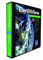 Aurora GB EarthView Ultra Binder, 1 1/2 Inch D-Ring, 8 1/2 x 11 Inch Size, Black, Linen Embossed, Eco-Friendly, Recyclable, Made in USA (AUA10141)