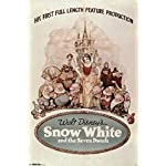 Disney Snow White And The Seven Dwarfs One Sheet Movie Poster 24x36