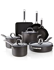 Calphalon Simply Easy System Nonstick, Set 11-Piece, Aluminum