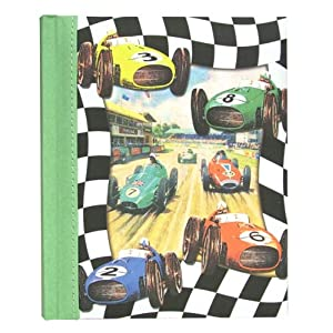 Dolce Mia Race Cars Sew Vintage Photo Album - 200 4x6 photos