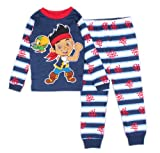 Disney Boys Jake and the Never Land Pirates Jake and Skully Pajama Set