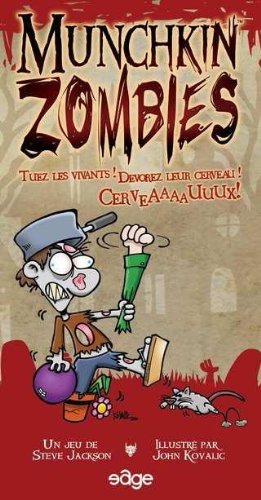 Asmodée - UBIMZ01 - Munchkin Zombies - Jeu de Société