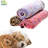 Alcoa Prime 3 Colors Warm Dog Bed Mat Cover Dogs Cats Pet Blanket Fleece Towel Paw Handcrafted Print Dog House Puppy Bed Winter Pet Supplies