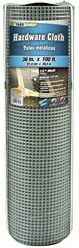Mat Midwest Air 308243B Tech 36-Inch-by-100-Foot 1/2-Inch Mesh 19-Gauge Galvanized Hardware Cloth