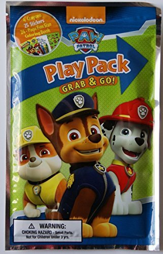 Paw Patrol Grab and Go Play Pack