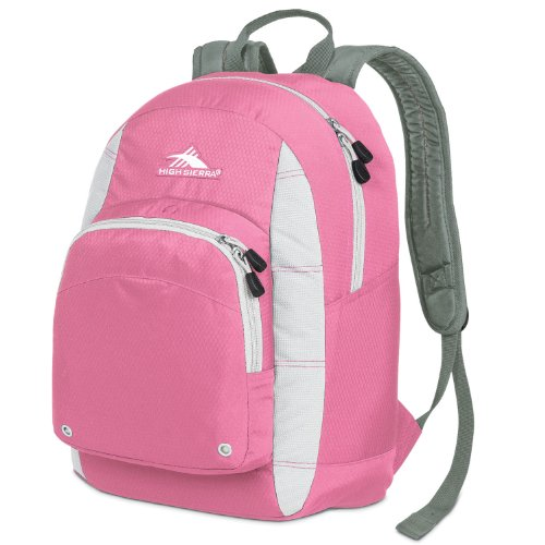 High Sierra Impact Backpack (17.25 X 11.25 X 8-Inch, Pink/White) front-1055116