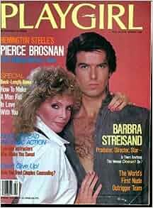 PLAYGIRL, THE MAGAZINE. February 1984: Pierce Brosnan