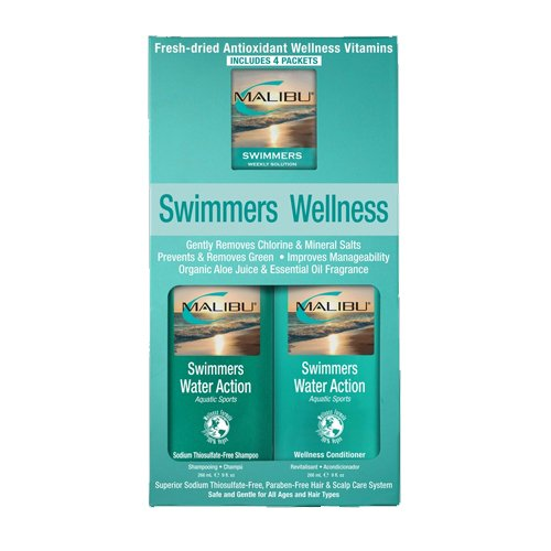 Malibu Hair Care Swimmers Wellness System Kit