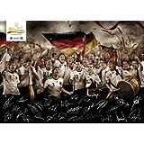 "Bitburger Poster-Spielplan Deutsche Fu�ball-Nationalmannschaft, DIN A2 59,4 x 42,0 cm, gefaltetvon ""Bitburger"""