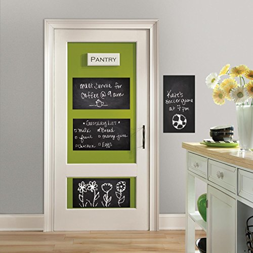 RoomMates RMK2747SLG Chalkboard Peel and Stick Wall Decals