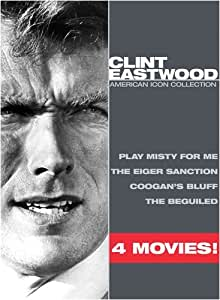 Clint Eastwood American Icon Collection (Play Misty for Me / The Eiger Sanction / Coogan's Bluff / The Beguiled)