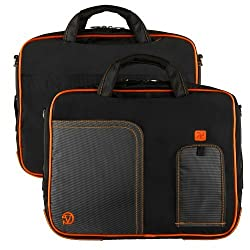 Vg Inc Tablet Messenger Bag (Orange)