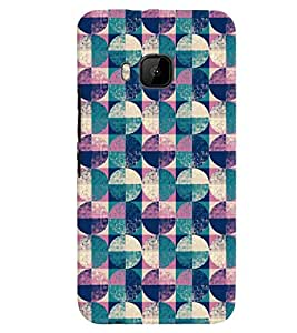 PrintVisa Corporate Print & Pattern Vintage 3D Hard Polycarbonate Designer Back Case Cover for HTC ONE M9+