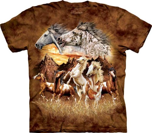 The Mountain Find 15 Horses Child T-Shirt S front-758060