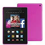 "Fire HD 7, 7"" HD Display, Wi-Fi, 16 GB (Magenta) - Includes Special Offers"