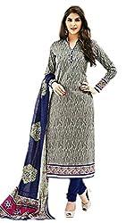 Aarvi Women's Cotton Unstiched Dress Material Multicolor -CV00168