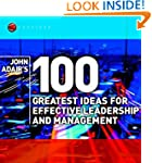 John Adair's 100 Greatest Ideas for E...