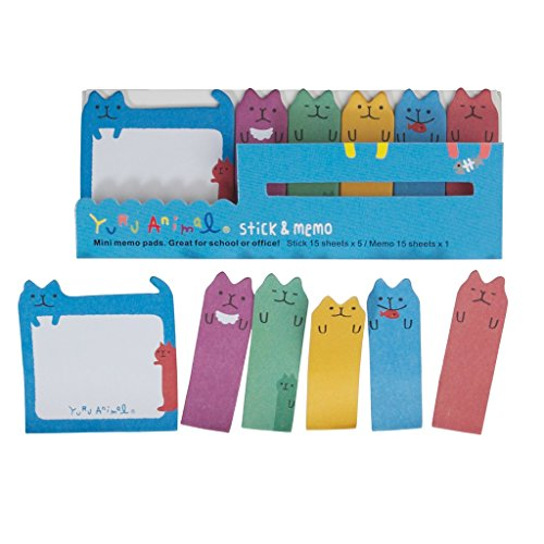 cute-mini-sticky-memo-pad-and-page-markers-cool-cats
