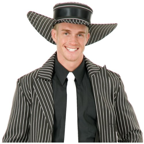 Zoot Suit Hat Costume Accessory