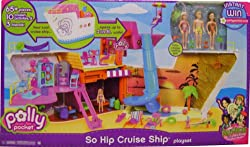 Polly Pocket Cruise Ship Play Set