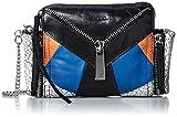 ブラック×ブルー レディース ショルダーバッグ LE-ZIPPER LE-BHONNY - shoulder bag X04049P1000 H6078 UNI