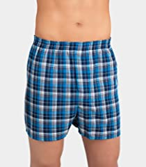 Fruit of the Loom Men's 5pk Tartan Boxers