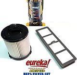 Eureka AirSpeed Bagless Upright HEPA Filter Replacement Set.