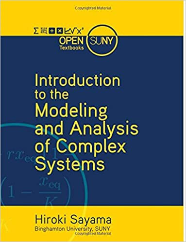 [Introduction to the Modeling and Analysis of Complex Systems]