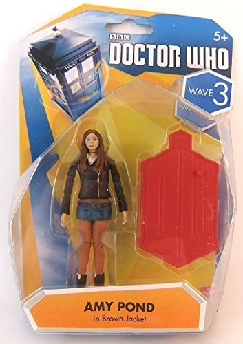 "Doctor Who Wave 3 Amy Pond in Brown Jacket 3 3/4"" Action Figure"