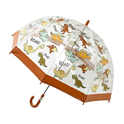 Bugzz Clear PVC Umbrella (Dinosaur Umbrella)