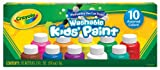 Crayola Washable Kid's Paint Sets set of 10