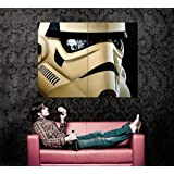 XD7084 Stormtrooper Helmet Reflections Star Wars Art HUGE GIANT WALL Print POSTER