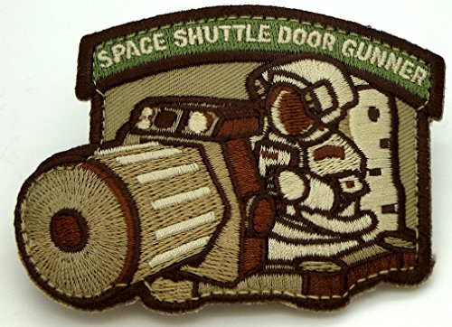Shuttle Door Gunner Morale Patch (Multicam (Arid))