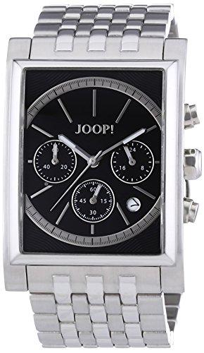 Joop!  JP101381F06 - Reloj de cuarzo para hombre, con correa de acero inoxidable, color plateado