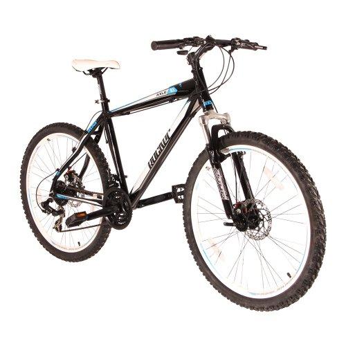 """VCM 26 Zoll Mountainbike """"AXLE 1.0"""" Schwarz-Blau 48 cm"""