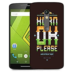 Snoogg Horn Ok Please 2744 Designer Protective Phone Back Case Cover For Moto G 3rd Generation