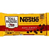 Nestle TOLL HOUSE Real Semi-Sweet Chocolate Morsels 12 oz. Bag
