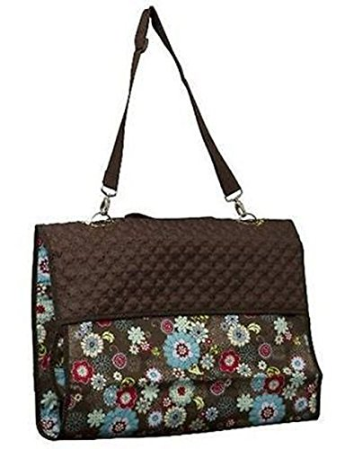 Thirty One Garment Bag Floral Fanfare Travel Large Organizer Retied front-481688